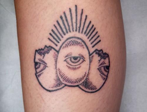 Les yeux dans les oeufs