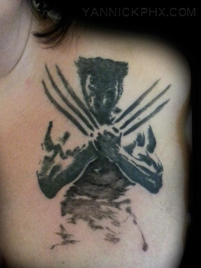 tattoo wolverine yannick phx